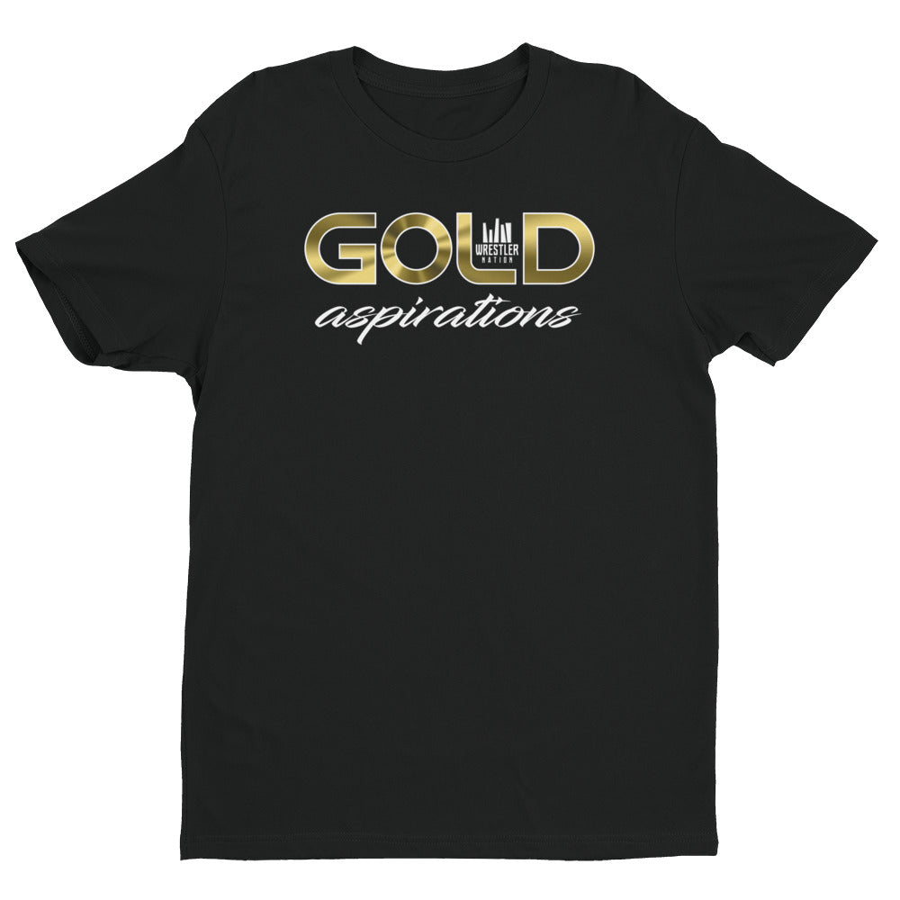 Gold Aspirations (Next Level) T-shirt