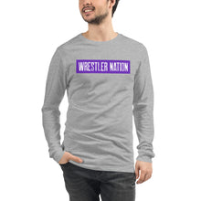 Load image into Gallery viewer, Long Sleeve Wrestler Nation Tee