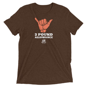 2 Pound Allowance Wrestling Shirt
