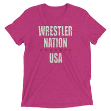 Load image into Gallery viewer, Women's Wrestler Nation USA Short Sleeve T-Shirt