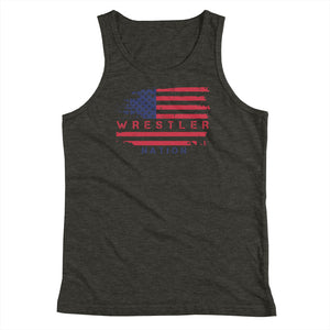 Youth Boys and Girls Wrestler Nation Tank Top