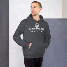 Load image into Gallery viewer, Unisex Wrestler Nation Hoodie-small logo