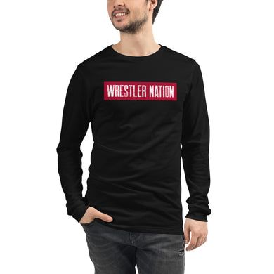 Unisex Long Sleeve Wrestler Nation Tee