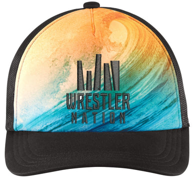 Wrestling Surfer Hat