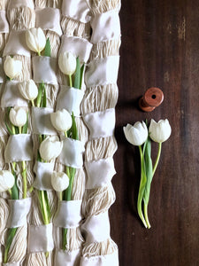 The Weaver Series: Tulips, Silk Ribbon and Rambouillet (III)