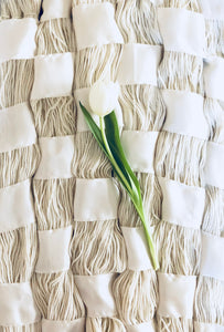 The Weaver Series: Tulips, Silk Ribbon and Rambouillet (II) | Notecards