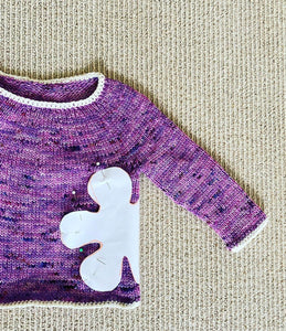 Flower Power Baby Sweater and Hat