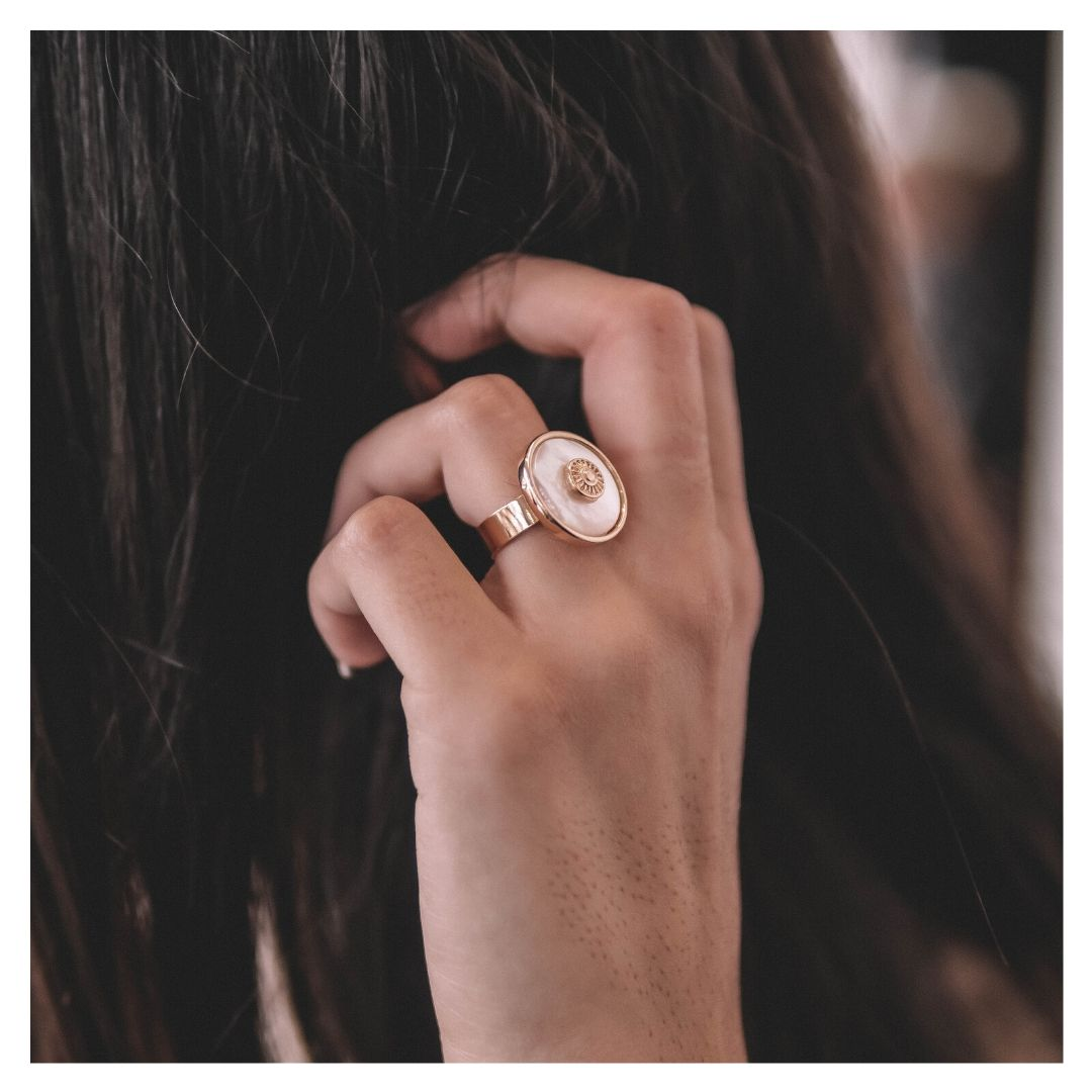 MOONSTONE - BAGUE MAELY