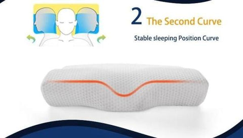Memory Foam Pillow - Neck Protection