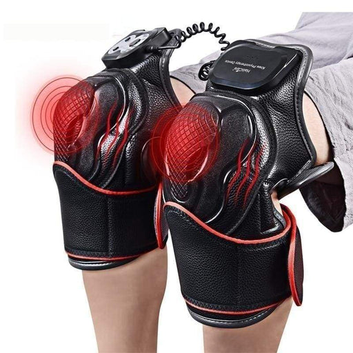Knee Massage  Set - Magnetic Vibration.