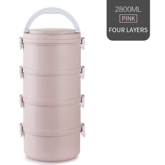 Multi-layered Food Container.