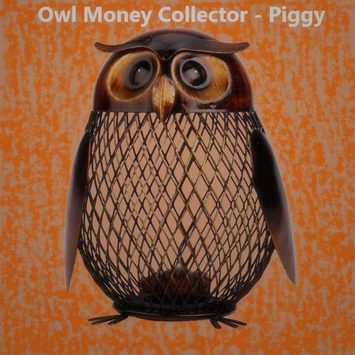 Owl Money Collector - Piggy.