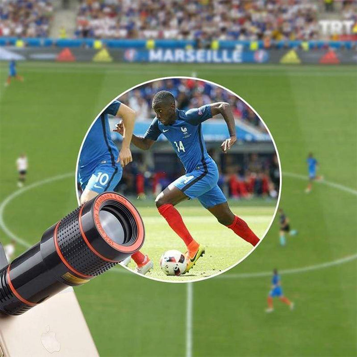 Best View Smartphone Camera Lens - Zoom 12X Magnification.