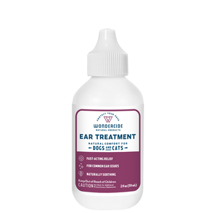 Wondercide Natural Ear Mite Treatment for Dogs and Cats 2 fl oz