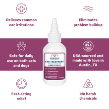 Load image into Gallery viewer, Wondercide Natural Ear Mite Treatment for Dogs and Cats 2 fl oz
