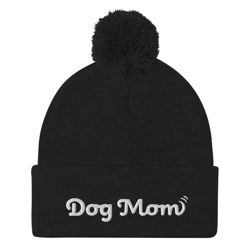 Dog Mom - Pom-Pom Beanie