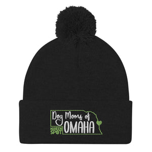 Dog Moms of Omaha - Pom-Pom Beanie