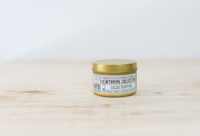 Wyoming Collection: Salted Woodsage (3oz. travel)