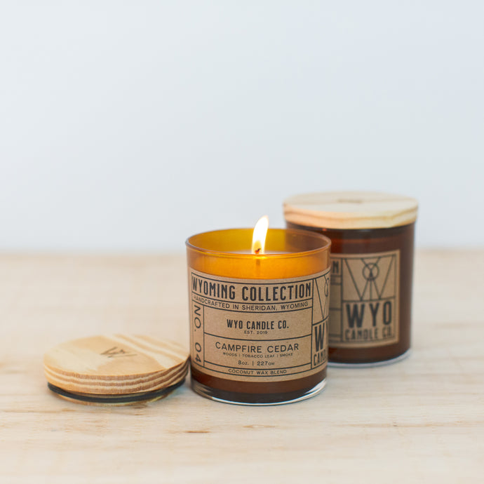 Wyoming Collection: Campfire Cedar (8oz.)