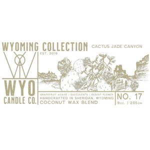 *NEW* Wyoming Collection: Cactus Jade Canyon (9oz.)
