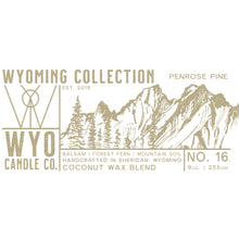 Load image into Gallery viewer, Wyoming Collection: Penrose Pine (9oz.)