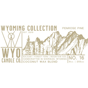 Wyoming Collection: Penrose Pine (9oz.)
