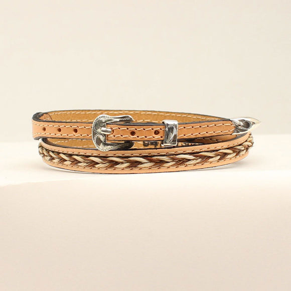 Braided Horsehair Hat Band - 0201448