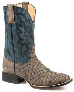 Roper Ronald Geometric Design Boots 09-020-8500-0223