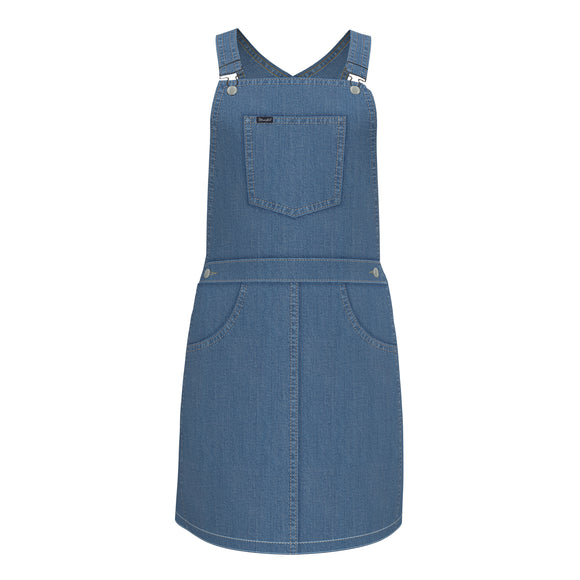 Wrangler Denim Overall Dress - 09GWKDN
