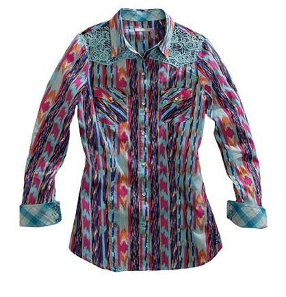 Tin Haul Shirt - Blue Multi   10-050-0064-0200