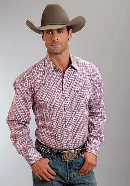 Stetson Crown Geo Shirt 11-001-0425-0363