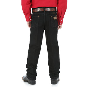 Wrangler Original Fit Black Jeans- 13MWBBK