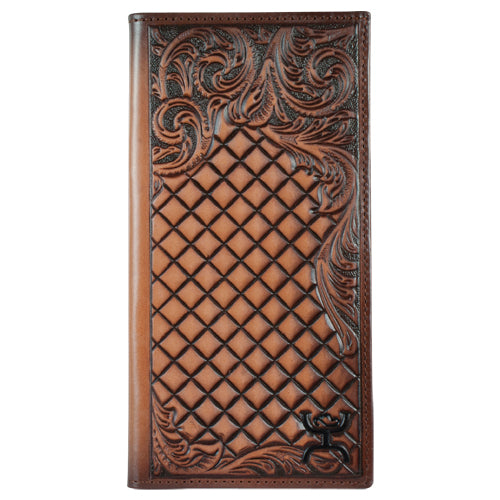 Hooey Tooled Rodeo Wallet - 1829137W3