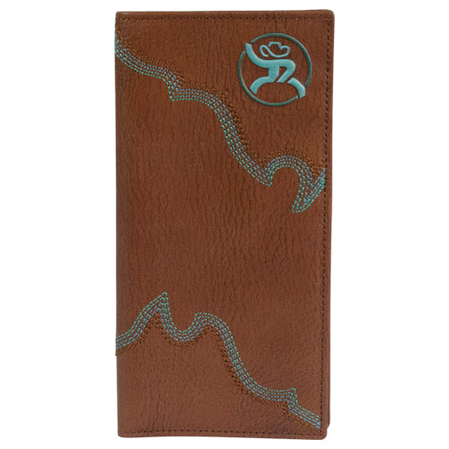 Roughy Boot Stitch Rodeo Wallet - 1912137W1