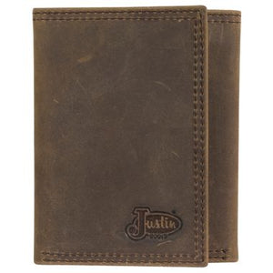 Justin Leather TriFold Wallet - 1920568W2