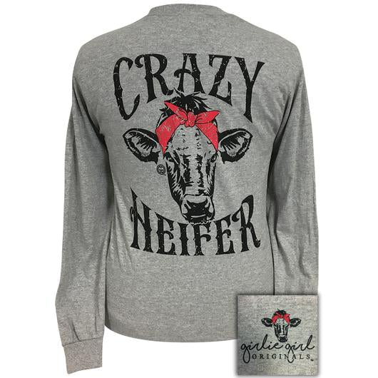 Girlie Girl Original Crazy Heifer Tee - 1923LS