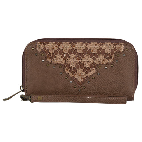 Justin Open Face Wallet with Wristlet - 1966553W