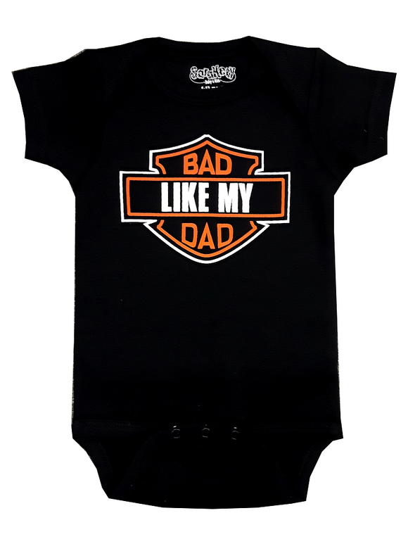 Sara Kety Bad Like Dad Onesie - 1ZBLD