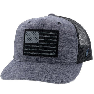 "Hooey ""Liberty Roper"" Youth Cap    2010T_NVBK_Y"