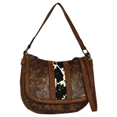 Justin Conceal Carry Slouch Bag - 2024594