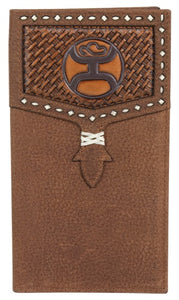 Hooey Basketweave Rodeo Wallet - 2041566W3