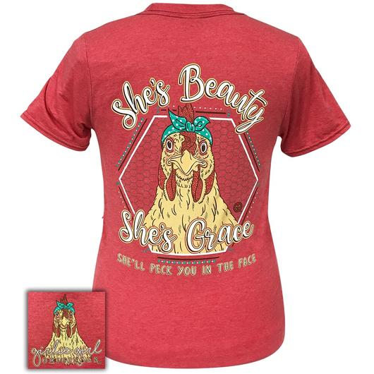 Girlie Girl Original Beauty Grace Hen Tee - 1858SS