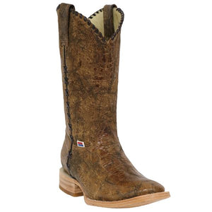 Rockin Leather Crater Western Boot - 2166