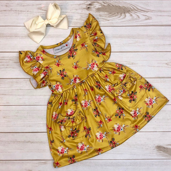 Melina & Me Honey Floral Dress - 2850030