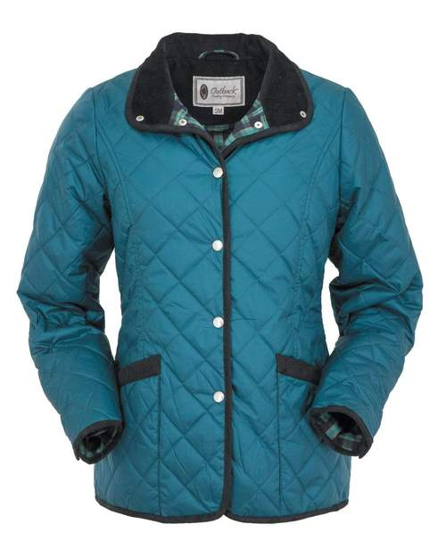 Outback Trading Quilted Barn Jacket - 29650