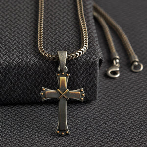 Twister Cross Necklace - 32136