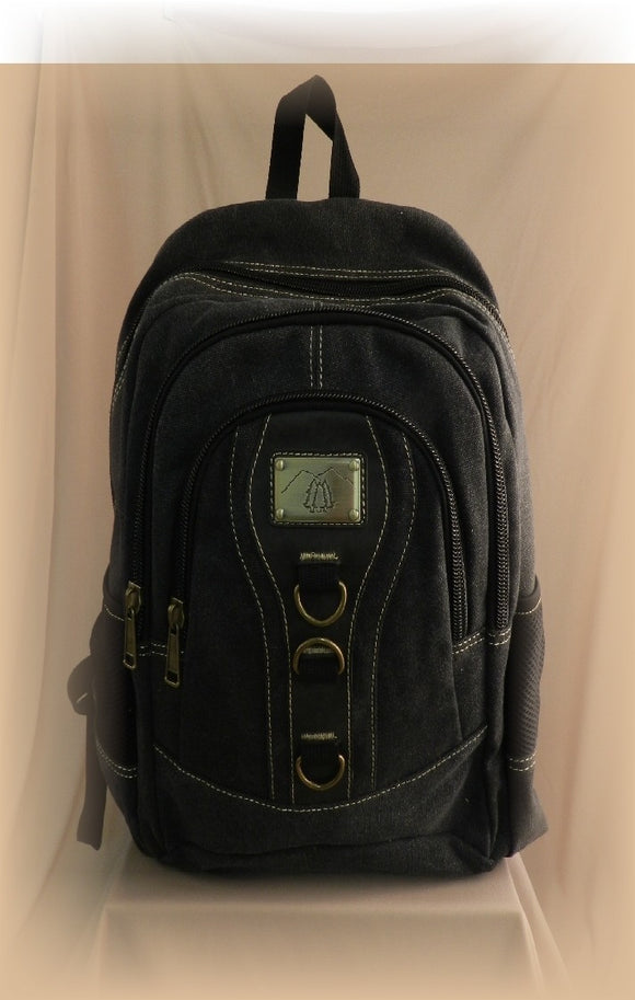 Canvas Backpack - 3933