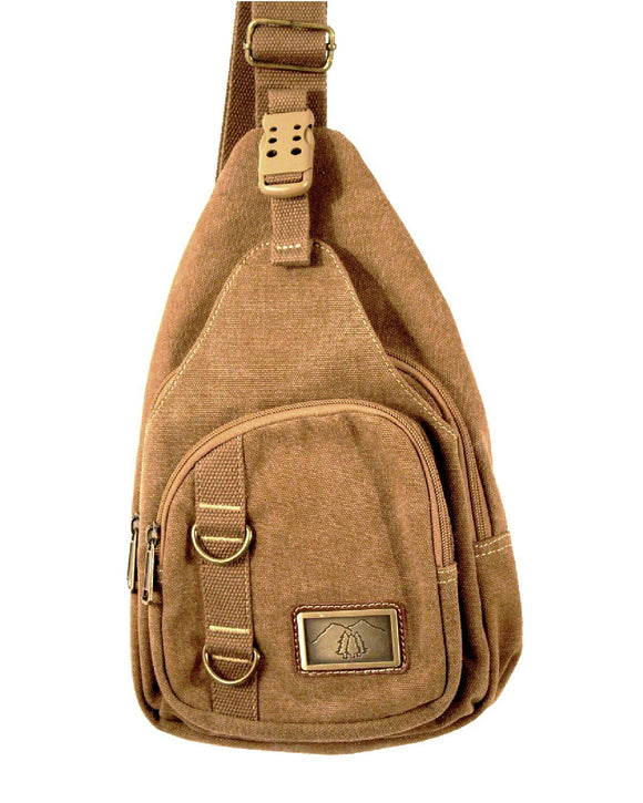 Canvas Sling Bag - 3978