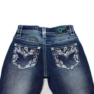 Cowgirl Hardware Paisley Jeans   402015-450
