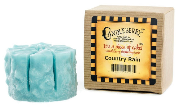 The Candleberry Company Country Rain Tart - 43148